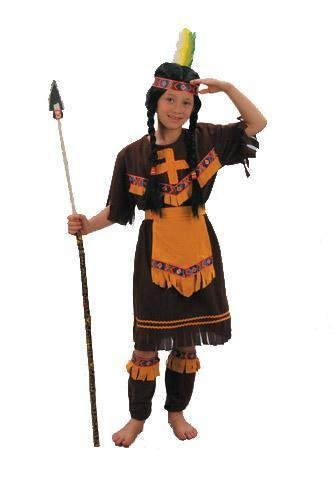Childrens - Indian Girl Costume