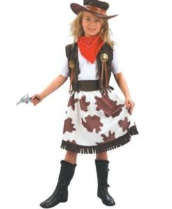 Childrens - Cowprint Cowgirl