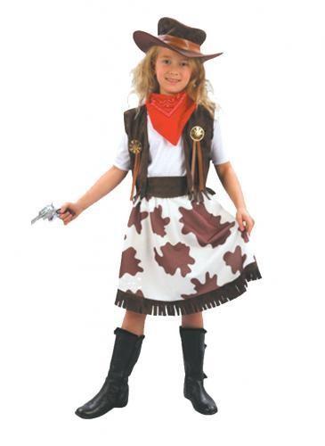 Childrens - Cowprint Cowgirl