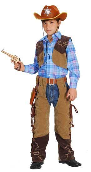 Childrens - Cowboy , Suede effect