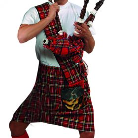 Scottish Bagpipe Player