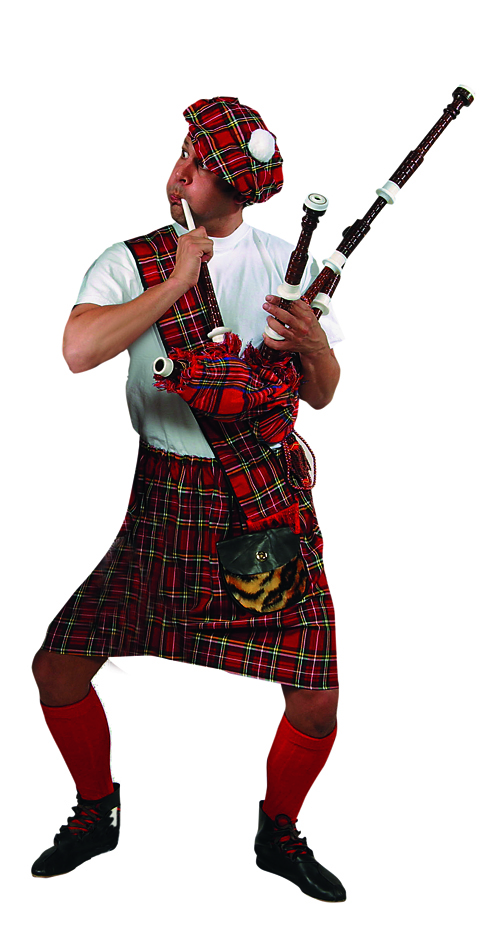 Scottish Bagpipe Player