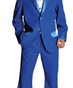 Pimp Suit Royal Blue