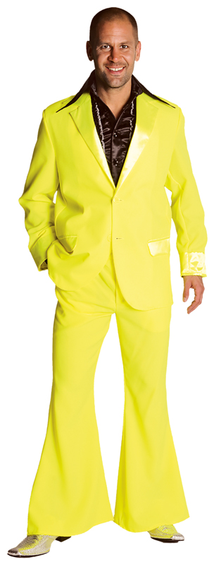 Pimp Suit Fluorescent Yellow