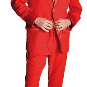 Pimp Suit Red