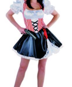 Pirate Lady , Stripe Top