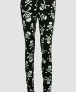 Pirate - Skull and Cross Bones Leggings