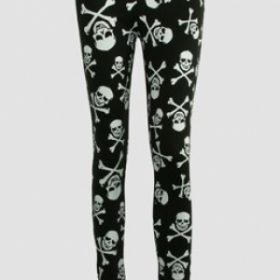 Pirate - Skull and Cross Bones Leggings