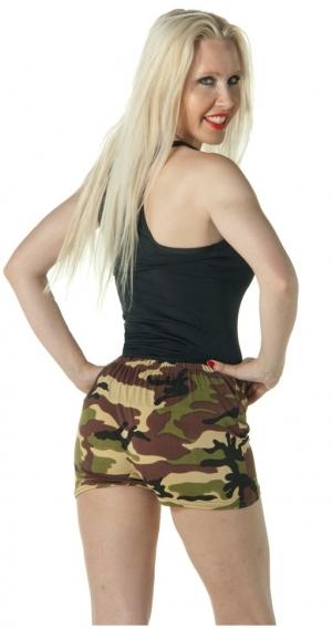 Camo Lycra Shorts
