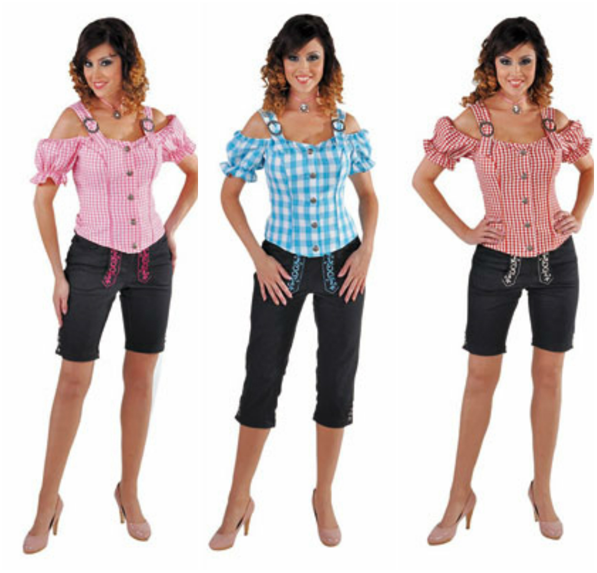 Deluxe Tyrolean Blouse