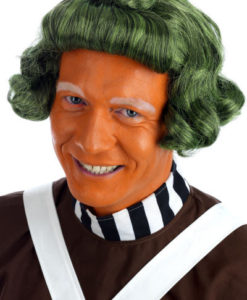 Oompa Loompa Chocolate Worker Wig