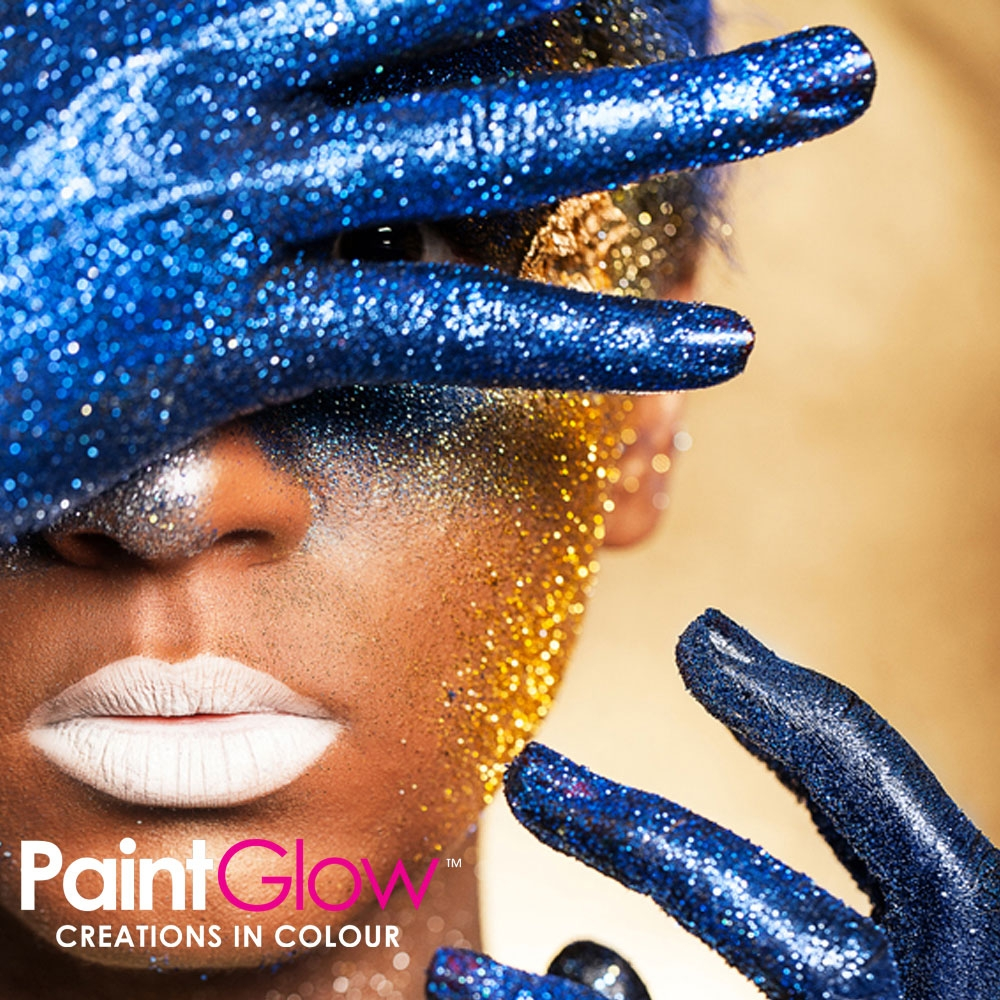 Glitter - Face and Body Gel - Blue