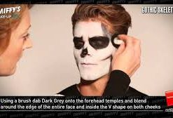 Gothic Skeleton - Make Up Tutorial