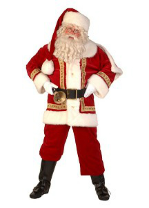Professional Father Christmas Costume - Professional Father Christmas Costume €� Fantasy World