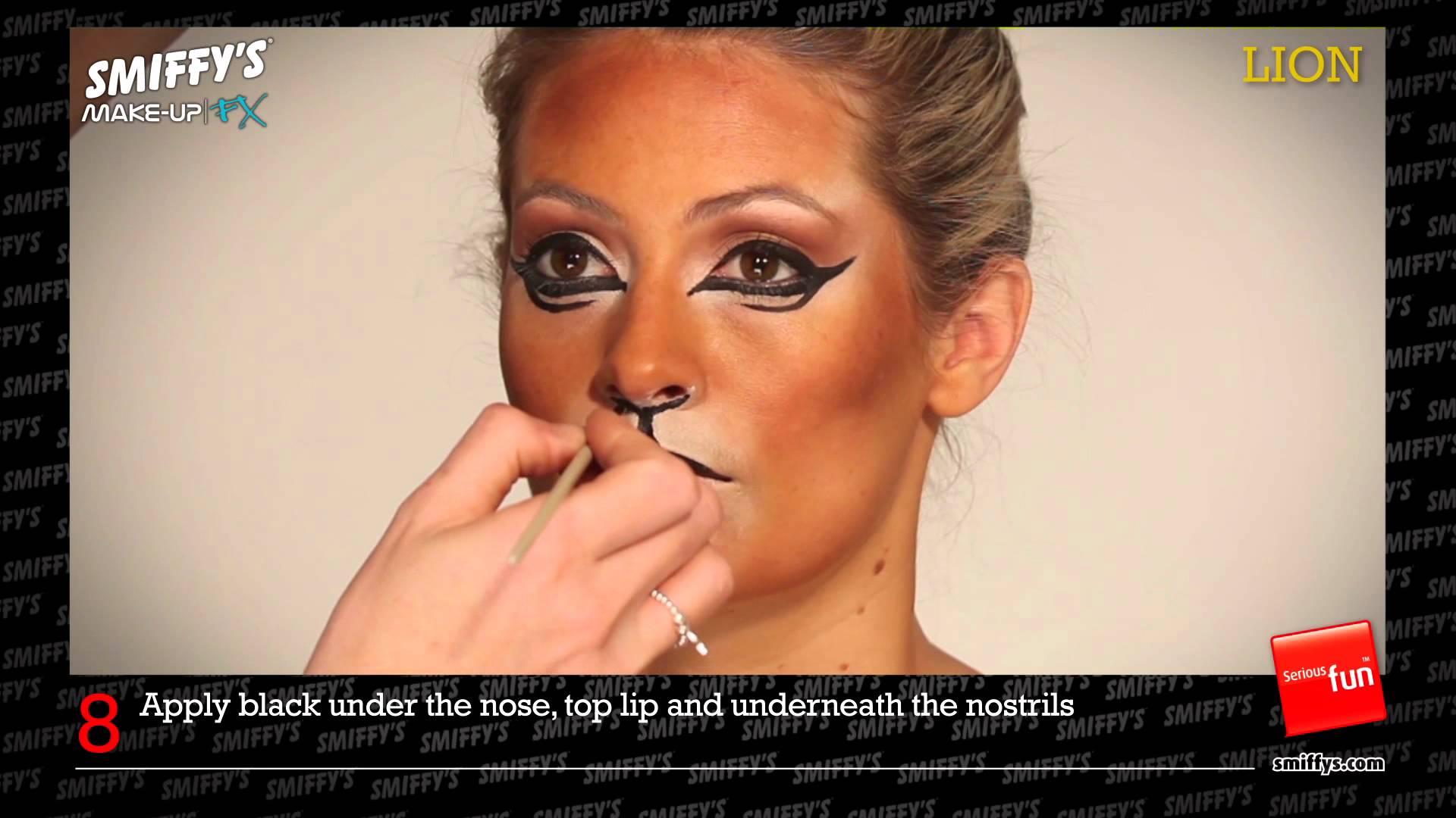 Lion - Make Up Tutorial