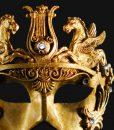 Eye Mask - Gold Cavalli