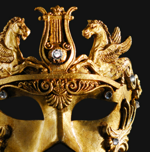 Eye Mask - Gold Cavalli