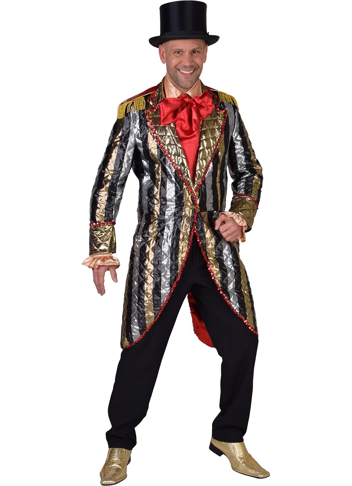 Gents Tailcoat - Mutli striped jacket