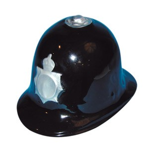 Policemans Helmet - Plastic