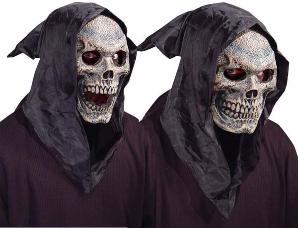 Skull Mask with flexible Mouth