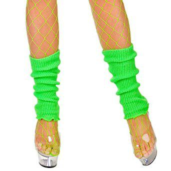 Leg Warmers - Neon Green