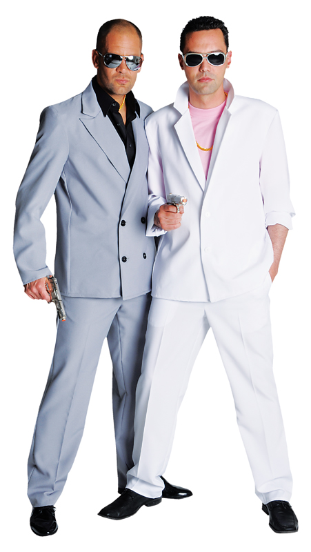 80's Deluxe Miami Vice , Crockett - White Suit