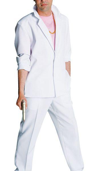 80's Deluxe Miami Vice , Crockett - White Suit