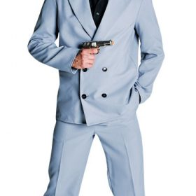 80's Deluxe Miami Vice , Stubbs - Grey Suit