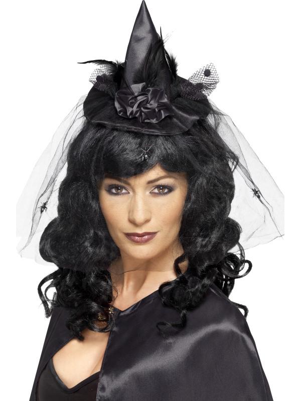 Mini Witches Hat - Black