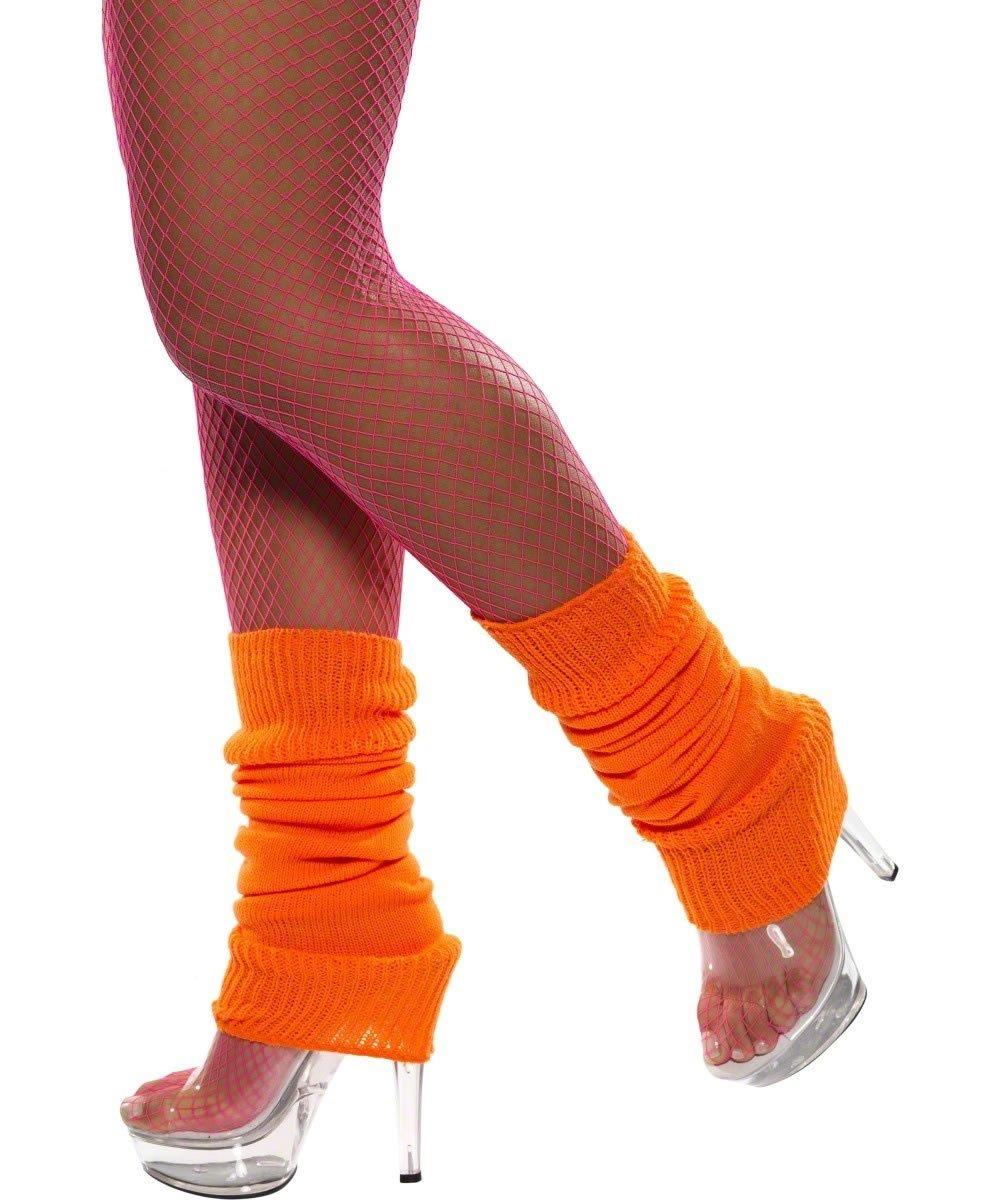 Leg Warmers - Neon Orange