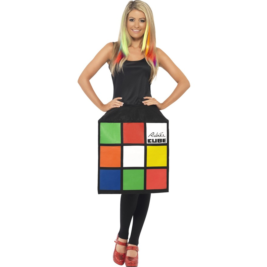 Rubik's Cube Dress - 3D