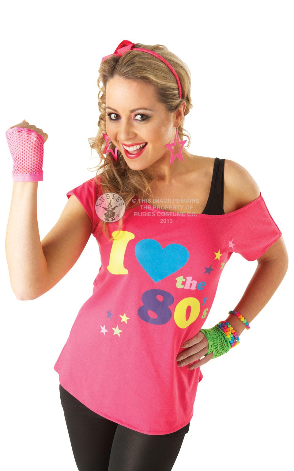 80's Top - Pink