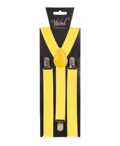 Braces - Yellow (Mustard)
