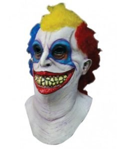 "Horror Clown Mask + Neck - ""Booba"""