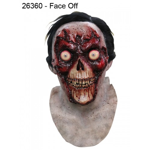 """Face Off "" Horror Mask and Neck"