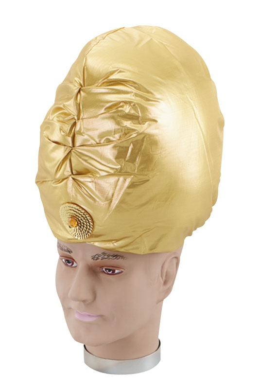 Turban gold hat