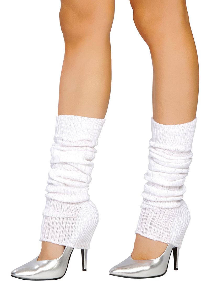 Leg Warmers - White