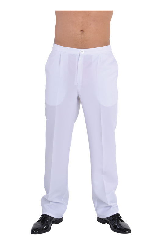 80's White Trousers