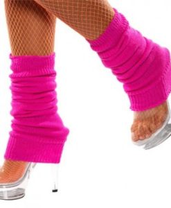 Leg Warmers - Neon Pink