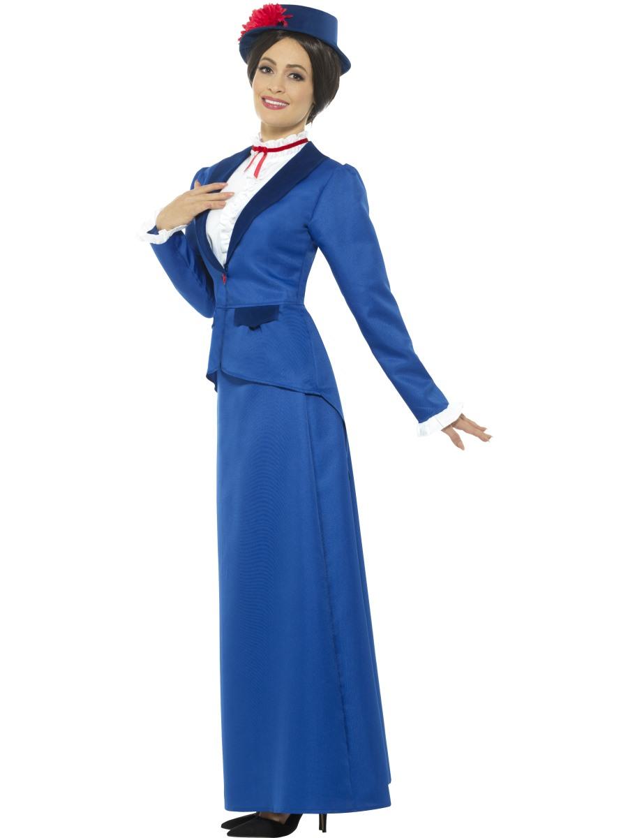 Victorian//MARY POPPINS//Edwardian Nanny SIZES 8-42