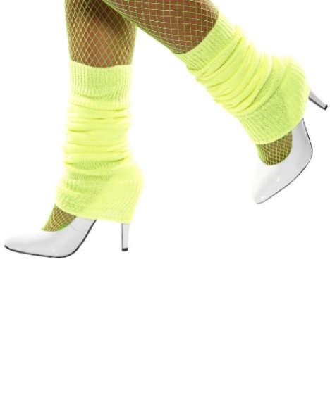 Leg Warmers - Neon Yellow