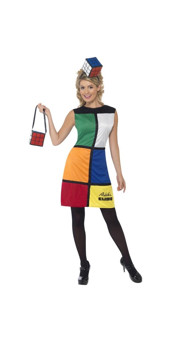 80's Rubik's Cube Dress