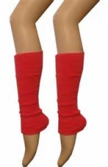 Leg Warmers - Red