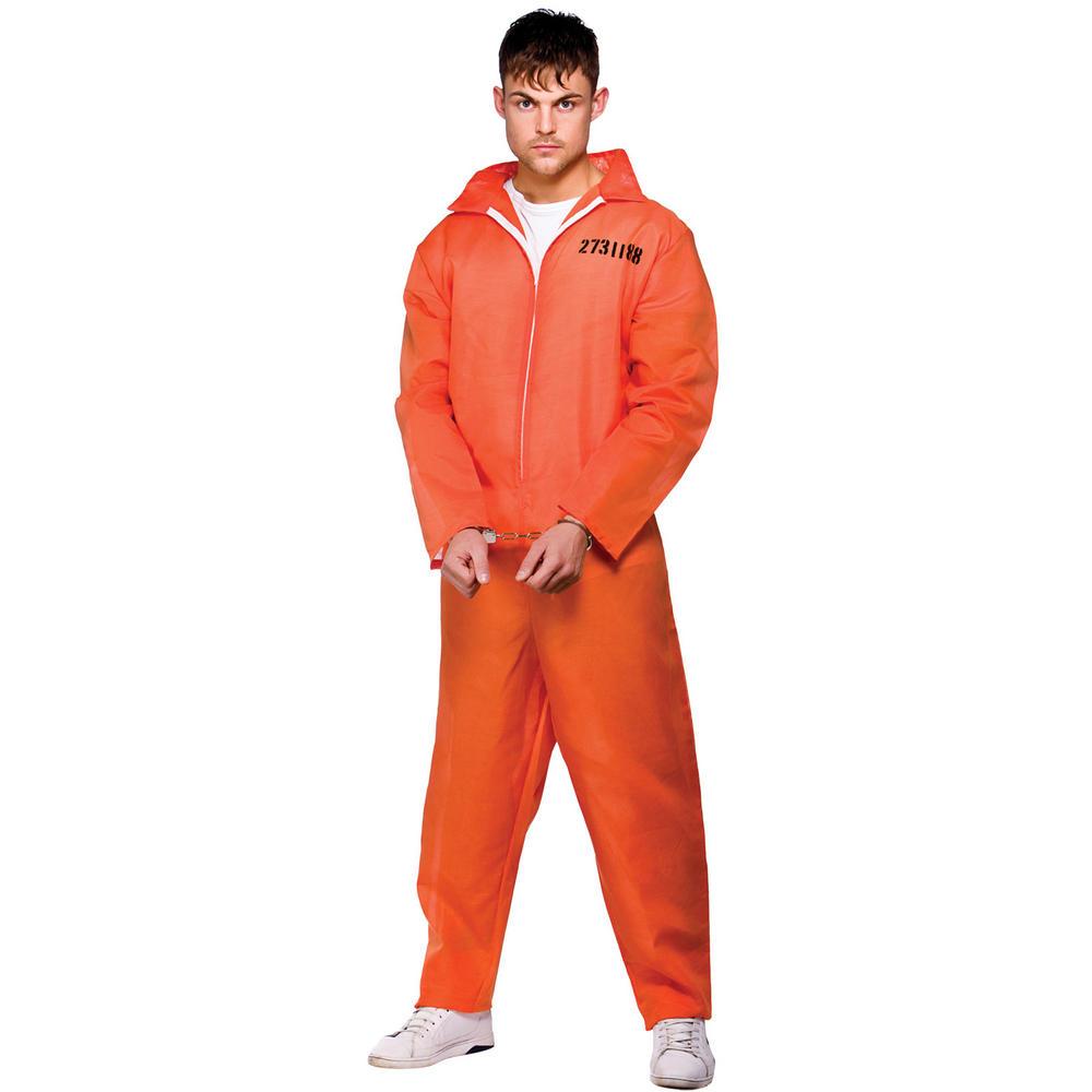 55175b94ec70 Prisoner   Convict Orange jumpsuit – Fantasy World